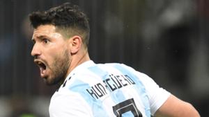 Sergio Aguero Argentina 2018