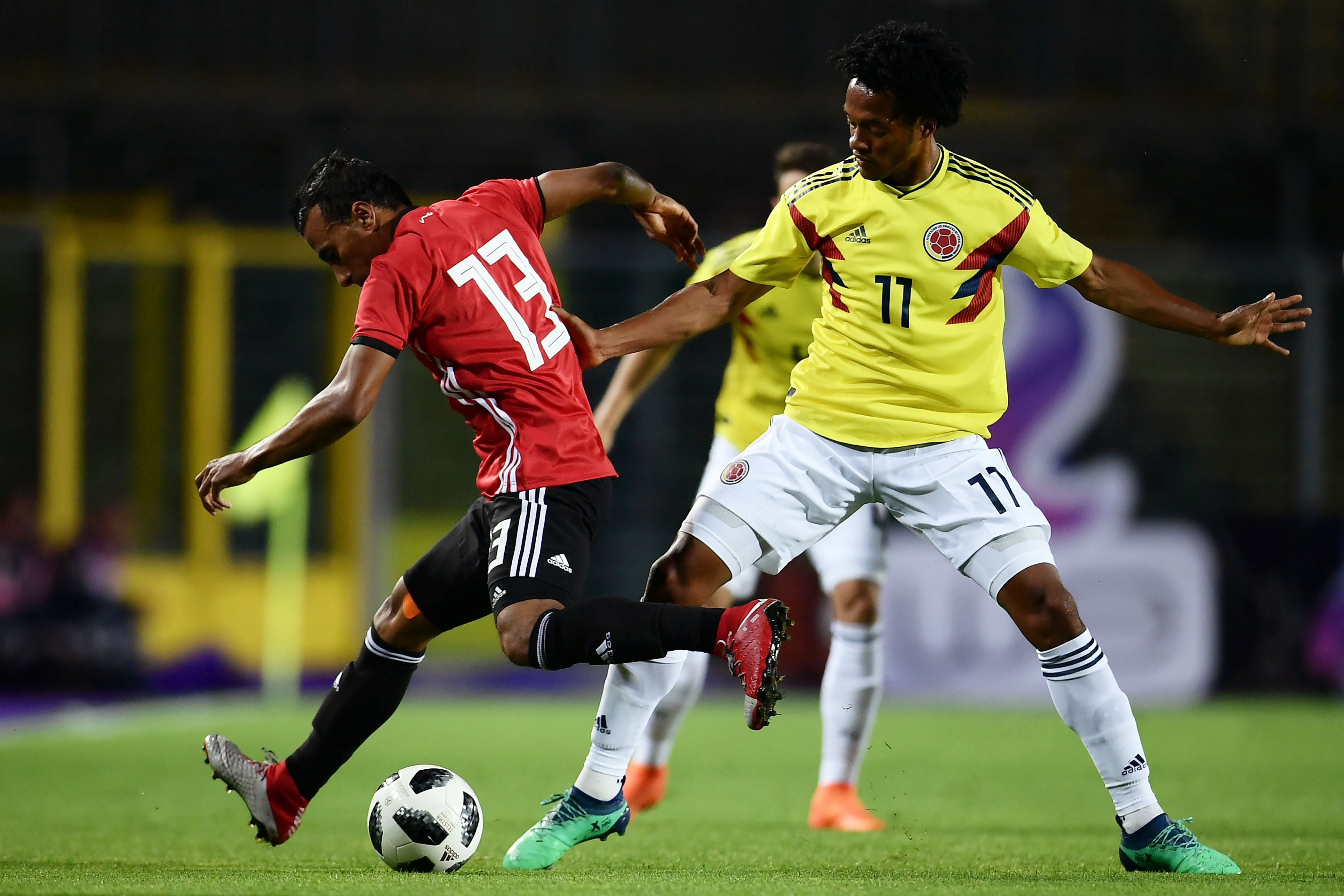 Juan Cuadrado Colombia - Egipto 2018