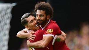 Roberto Firmino Mohamed Salah