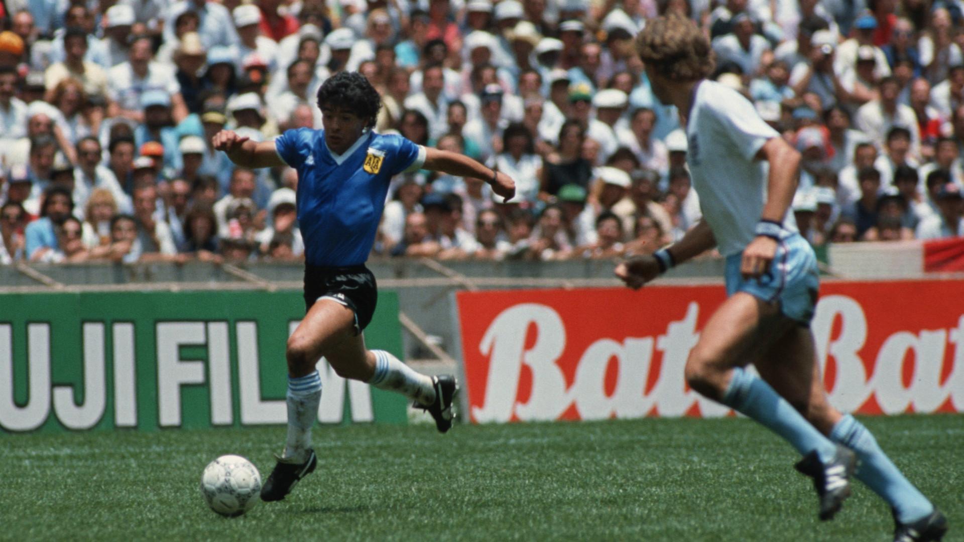 Diego Maradona Argentina England