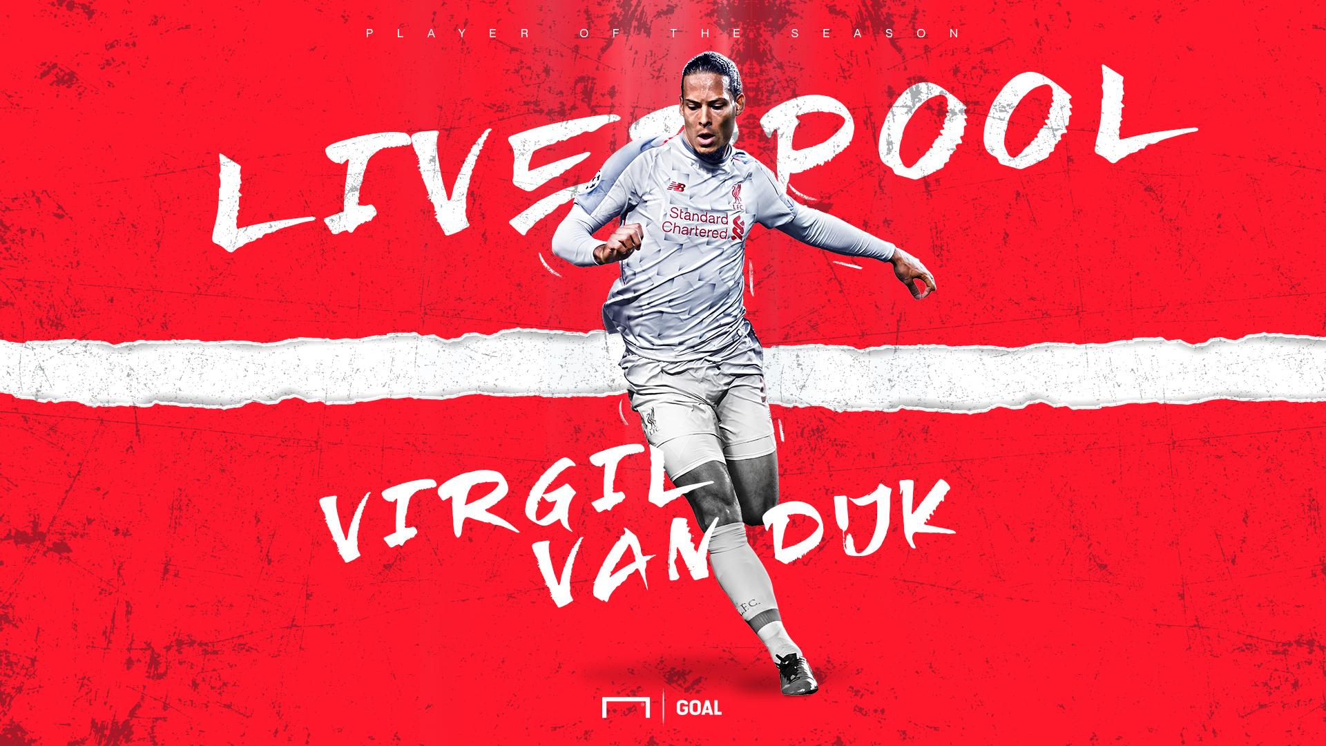 Virgil Van Dijk Liverpool POTS