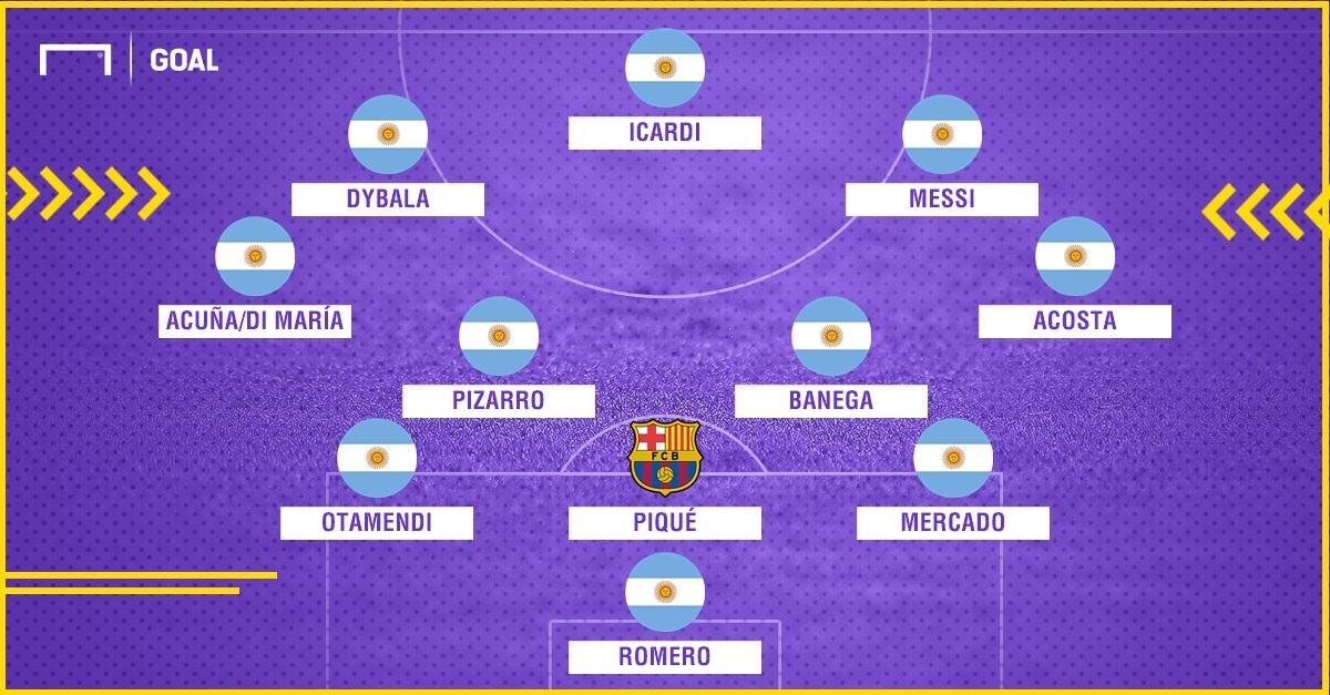 PS Argentina Barcelona