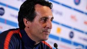Unai Emery PSG Paris Saint Germain conférence de presse