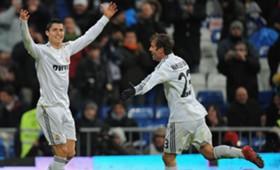 Cristiano Ronaldo Van der Vaart Real Madrid