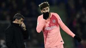 Valverde/Pique Barcelona 2019