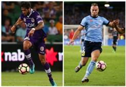 Rhys Williams Perth Glory Jordy Buijs Sydney FC A-League