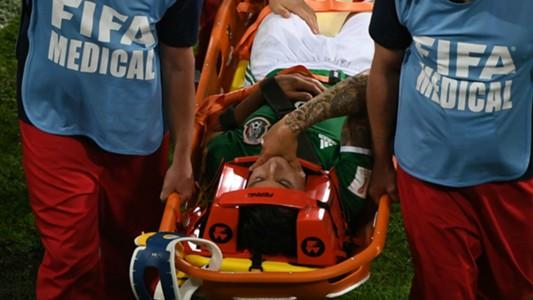 Carlos Salcedo injury Mexico Confederations Cup 062117
