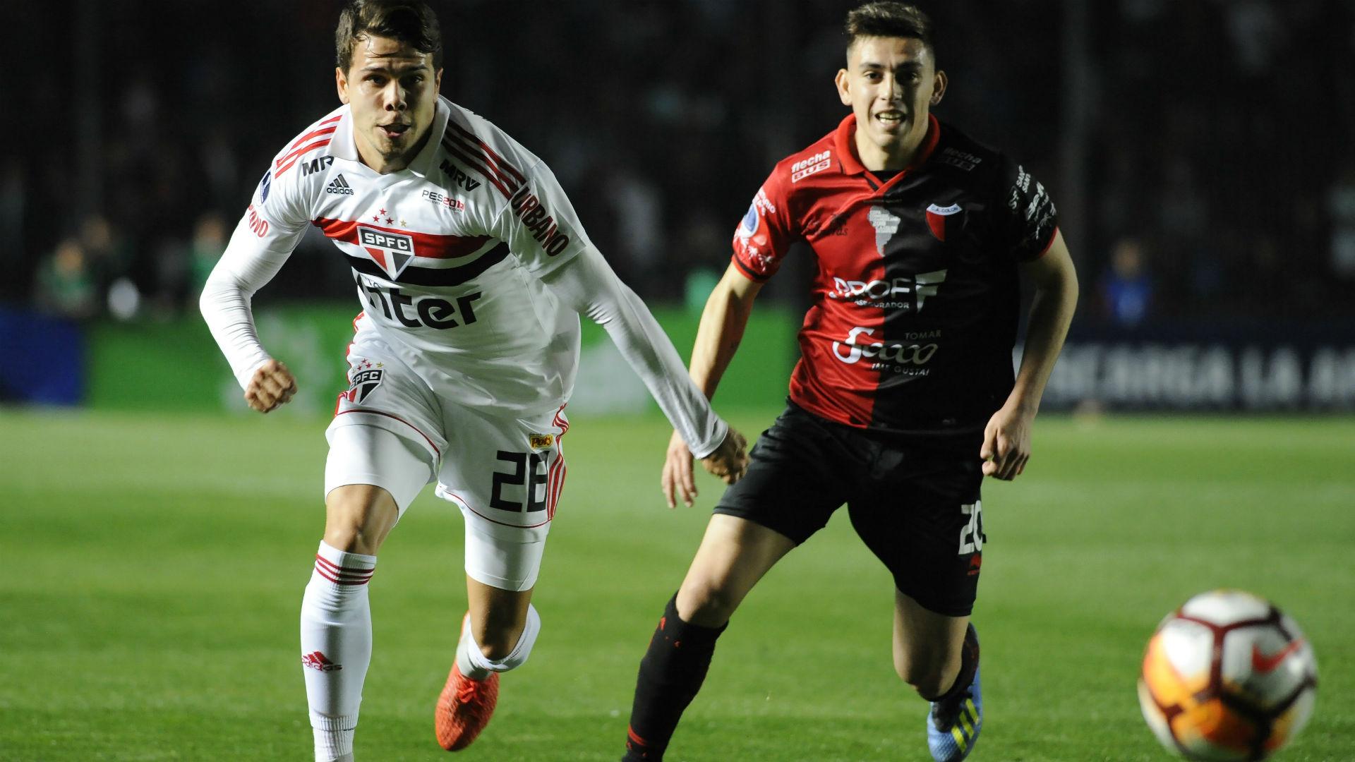 Felipe Arauna Gonzalo Escobar Colon Sao Paulo Copa Sudamericana 16082018