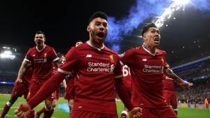 Roberto Firmino Alex Oxlade Chamberlain FC Liverpool 10042018