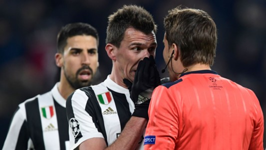 Mario Mandzukic Sami Khedira Juventus Tottenham