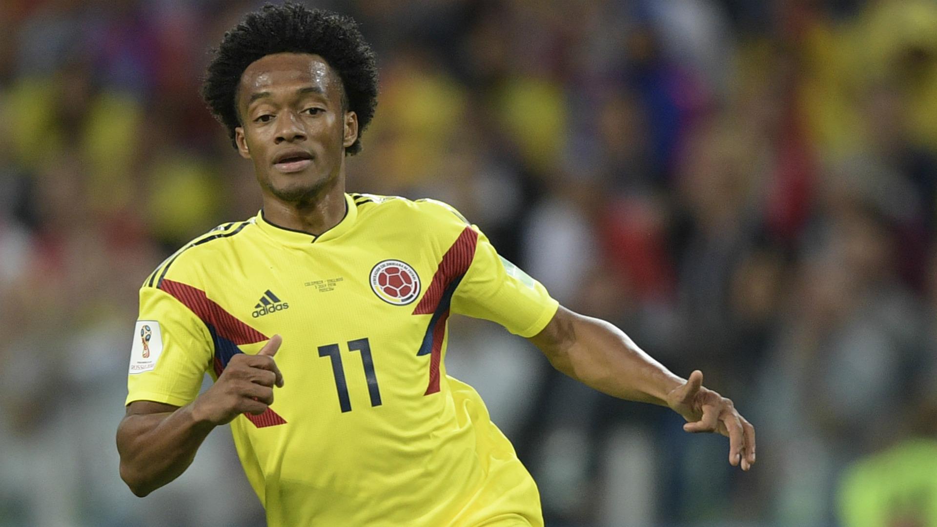 Cuadrado Colombia England WC Russia 03072018