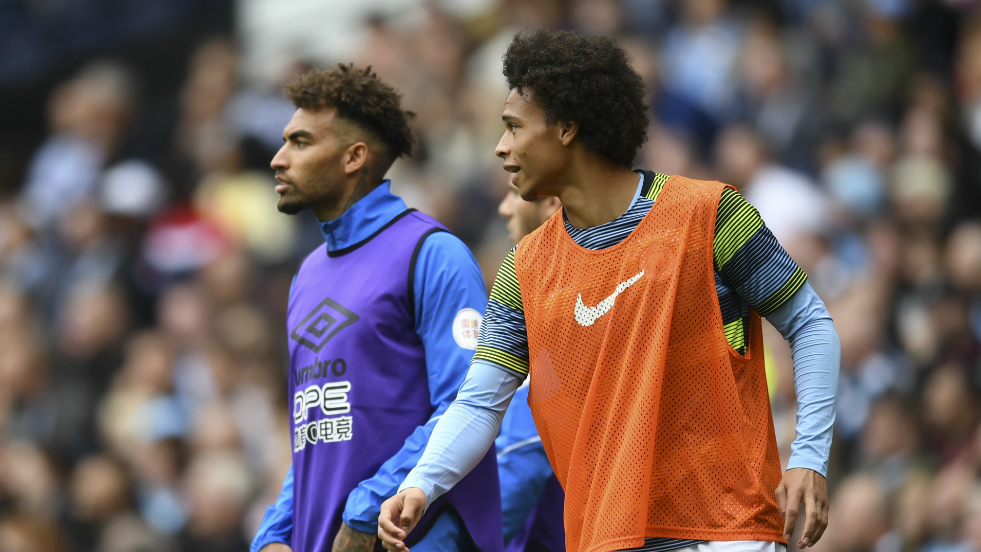 Pep Guardiola Says Leroy Sane Is The Best Wide Player In ...  |Leroy Sane