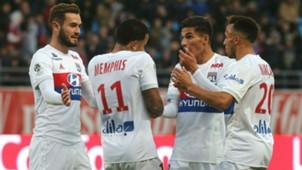 Memphis Depay Troyes Lyon Ligue 1 22102017