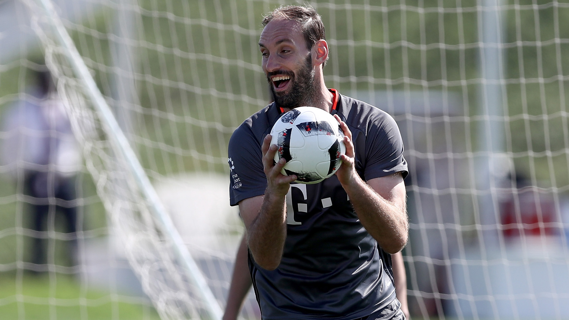 Endlich! David Alaba ist zurück im Bayern-Training