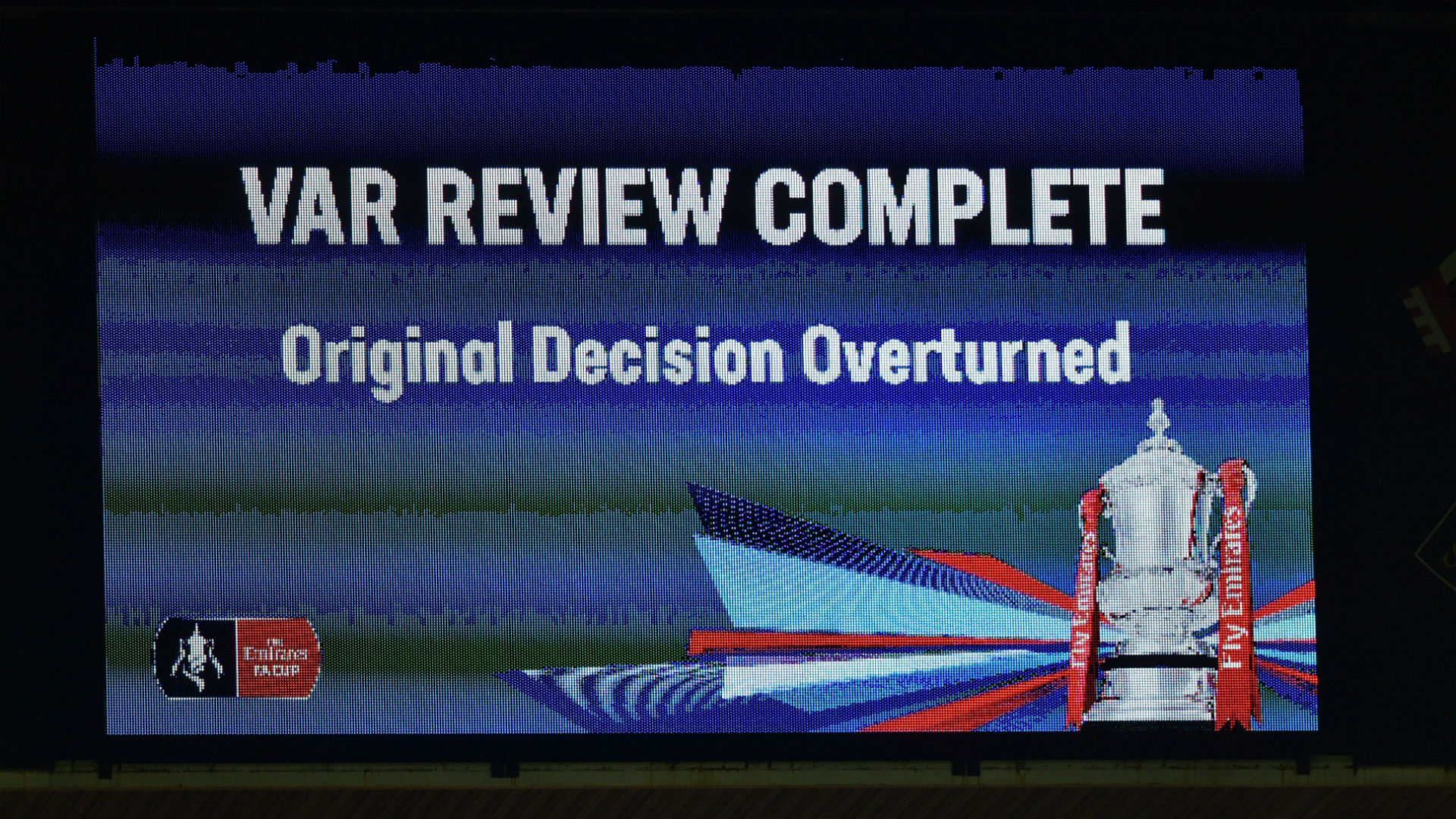 VAR review