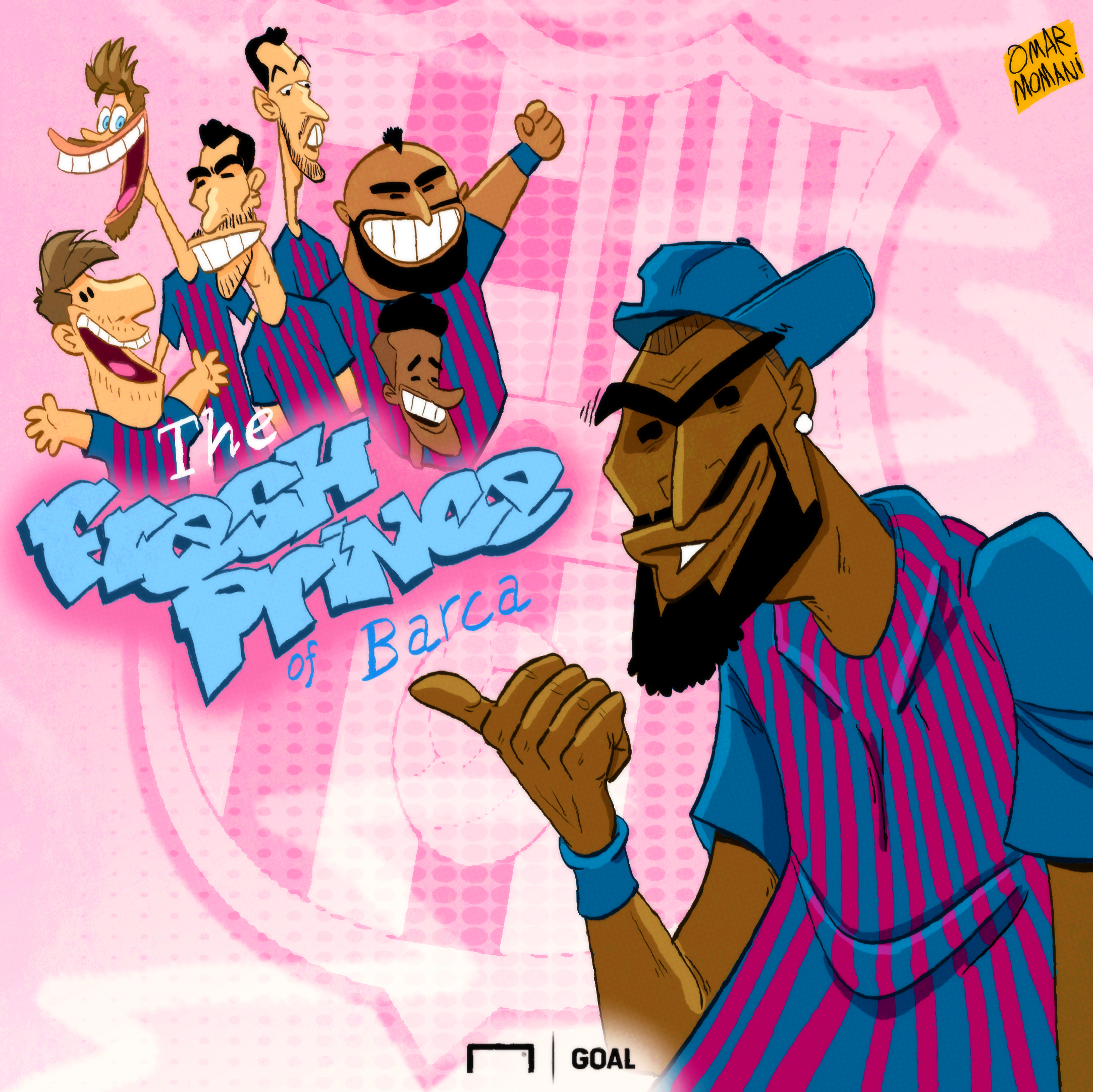 Fresh Prince Kevin Prince Boateng Cartoon
