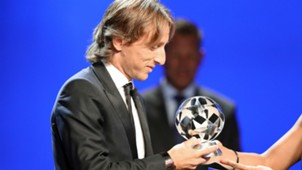 luka modric - uefa footballer of the year - 30082018
