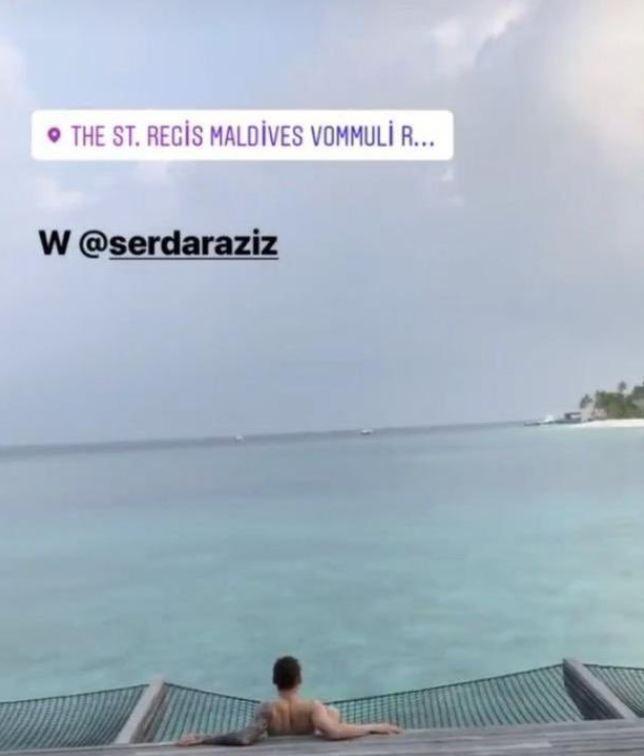 Serdar Aziz's wife's Instagram picture