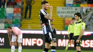 Cyril Thereau Udinese Palermo Serie A