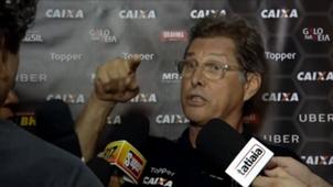 Oswaldo de Oliveira repórter discussão Atlético-MG 07022018