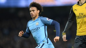 Leroy Sane Manchester City Arsenal