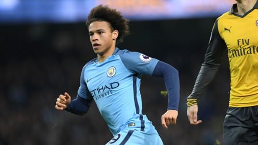 Leroy Sane Manchester City Arsenal