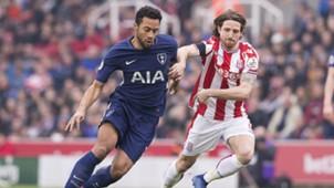 Mousa Dembele Joe Allen Stoke City Tottenham Premier League