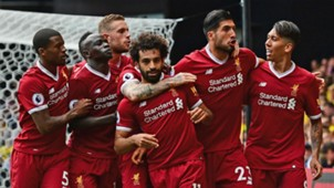 Liverpool celebrate vs Watford