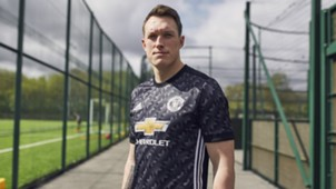 Phil Jones Manchester United New Kit
