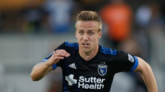 Tommy Thompson San Jose Earthquakes