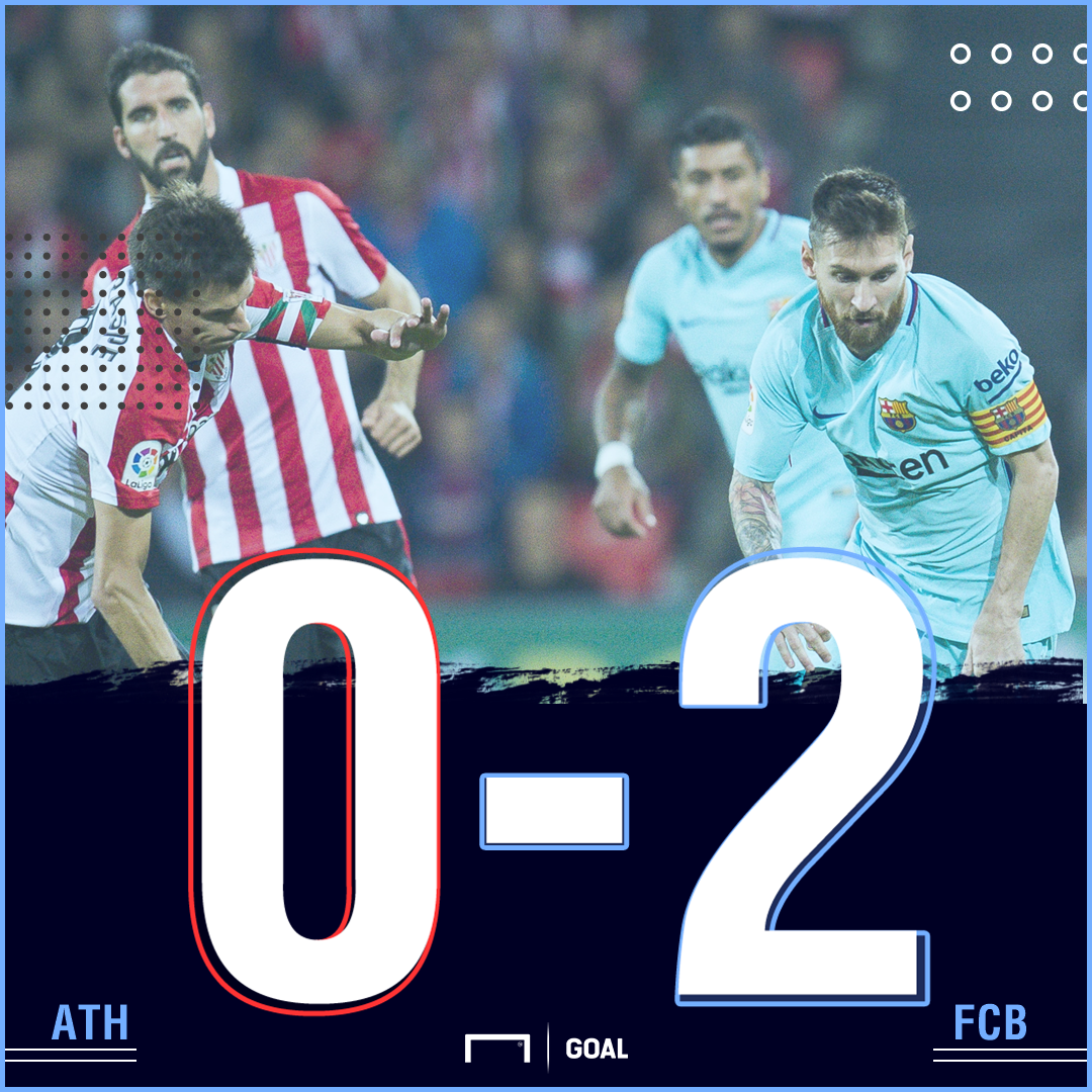 Athletic Barca score