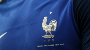 France shirt kit crest rooster 2017