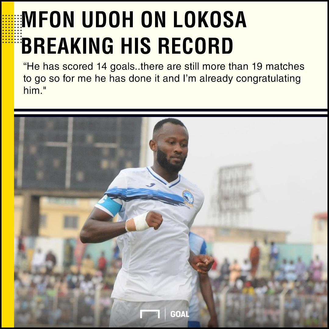 Mfon Udoh on Lokosa PS