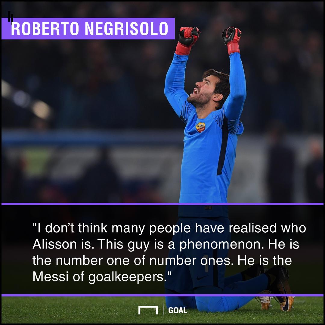 Alisson Messi PS