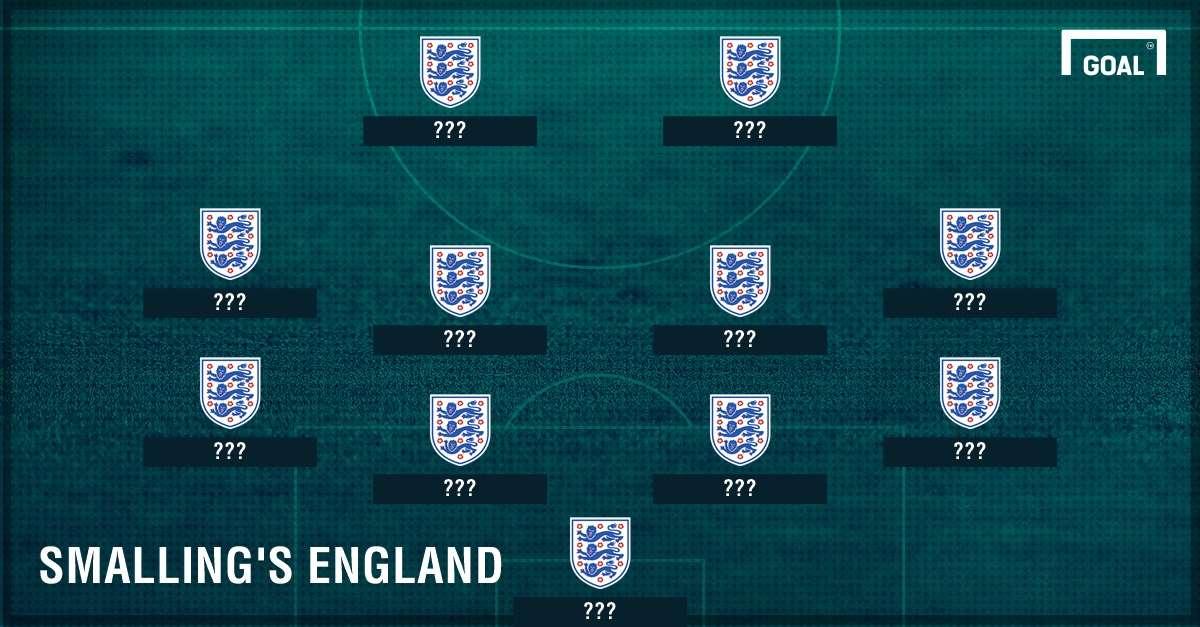 GFX Chris Smalling's England XI