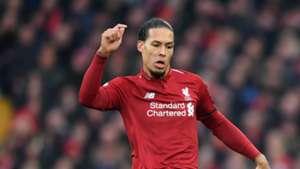 Virgil van Dijk Liverpool 2018/19