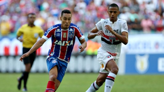 Bruno Alves Edigar Junio Bahia Sao Paulo Brasileirao Serie A 13052018