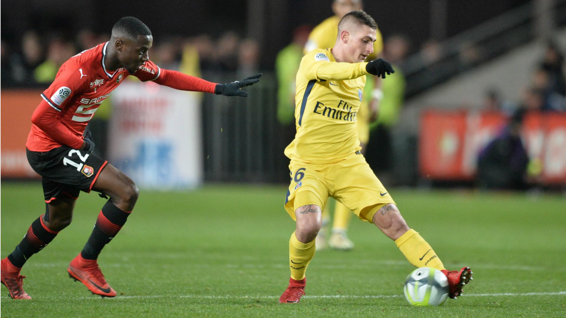 James Lea Siliki Marco Verratti Rennes PSG 16122017