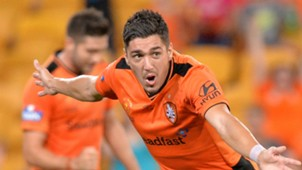 Dimitri Petratos Brisbane Roar v Sydney FC A-League 26032016