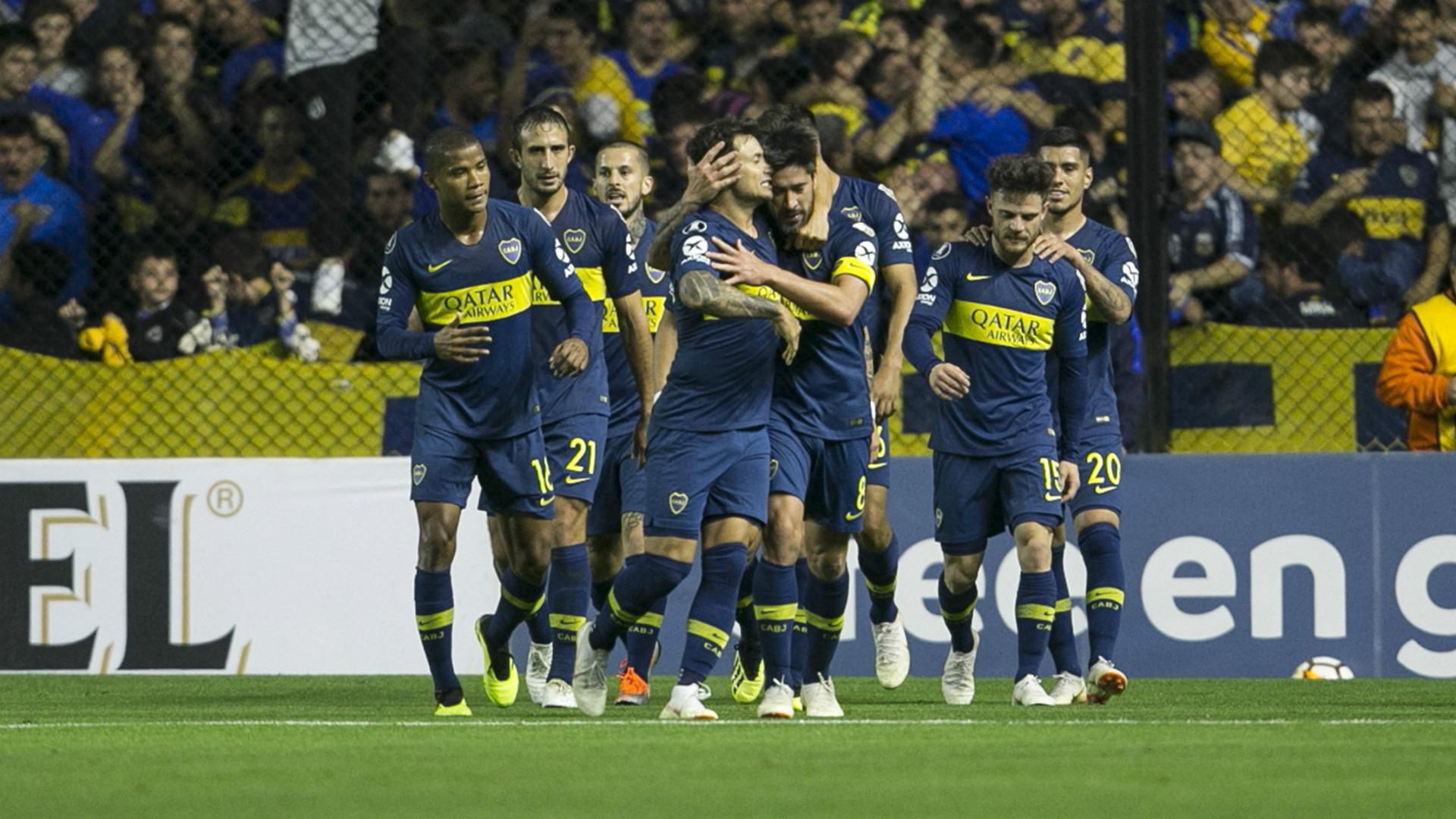festejo Boca Juniors Cruzeiro 19092018 Copa Libertadores
