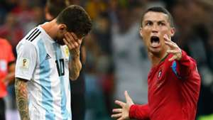 GFX Ronaldo Messi World Cup 2018