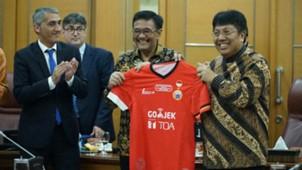 Persija Jakarta, Espanyol & plt Gubernur DKI Jakarta Djarot Saiful Hidayat
