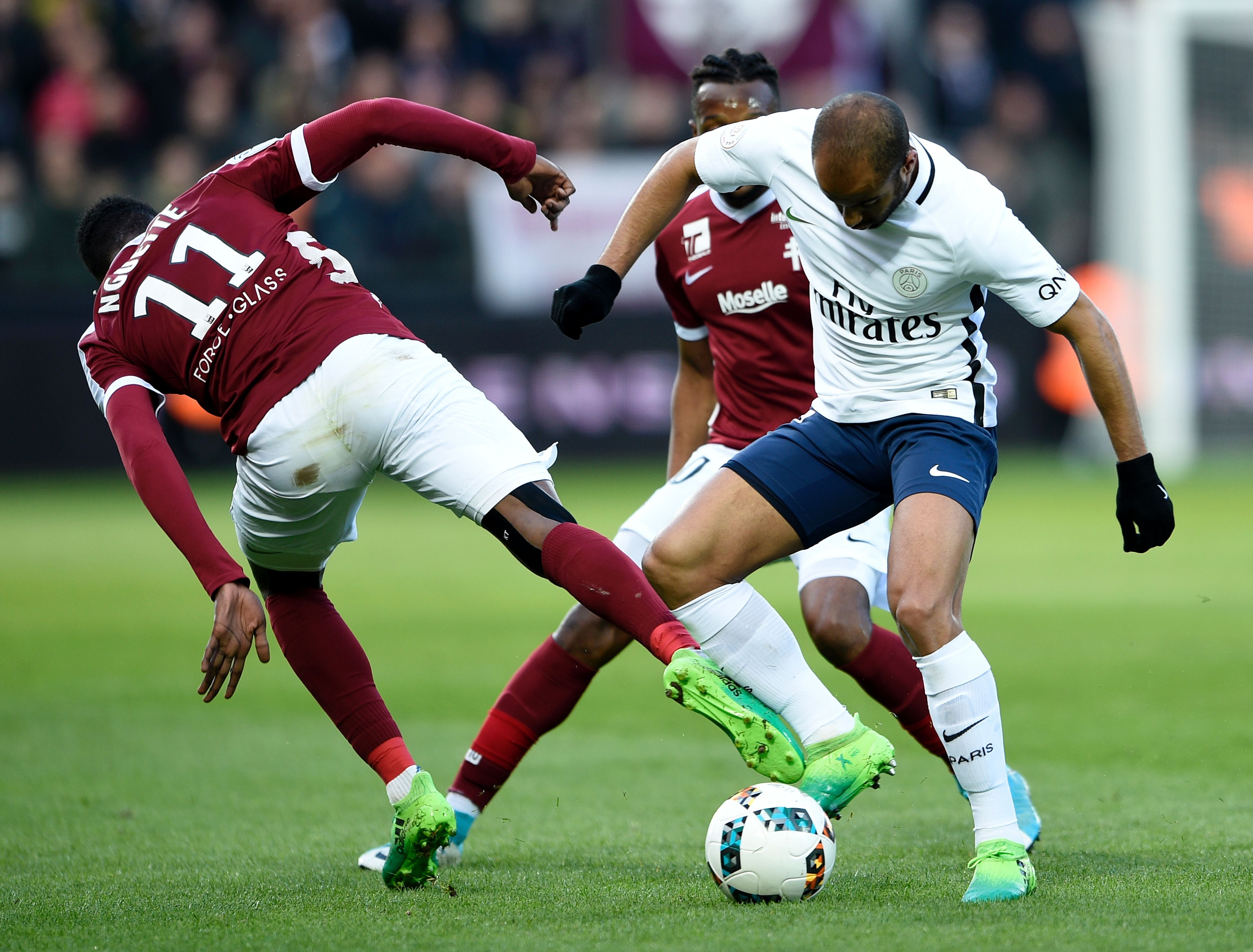 Lucas Moura Metz PSG Ligue 1 18042017