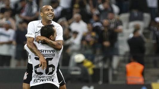 Emerson Sheik e Rodriguinho - Corinthians - 15/04/2018