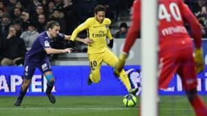 Neymar Toulouse PSG Ligue 1 10022018