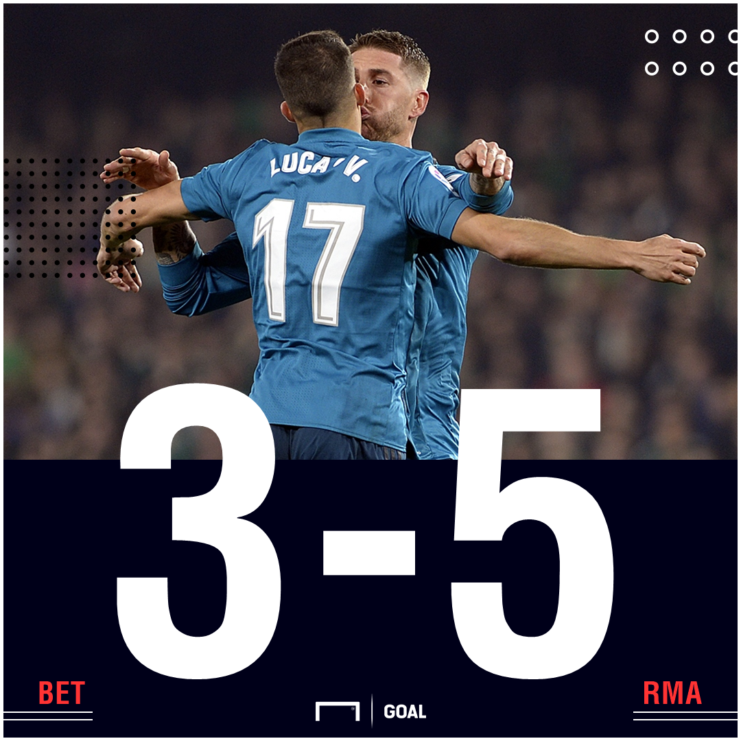 Betis Madrid score