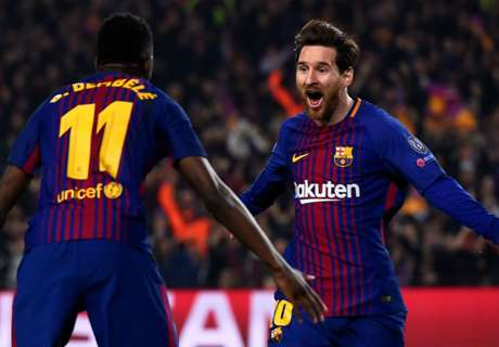 Messi's message to Dembele: Barca need you!