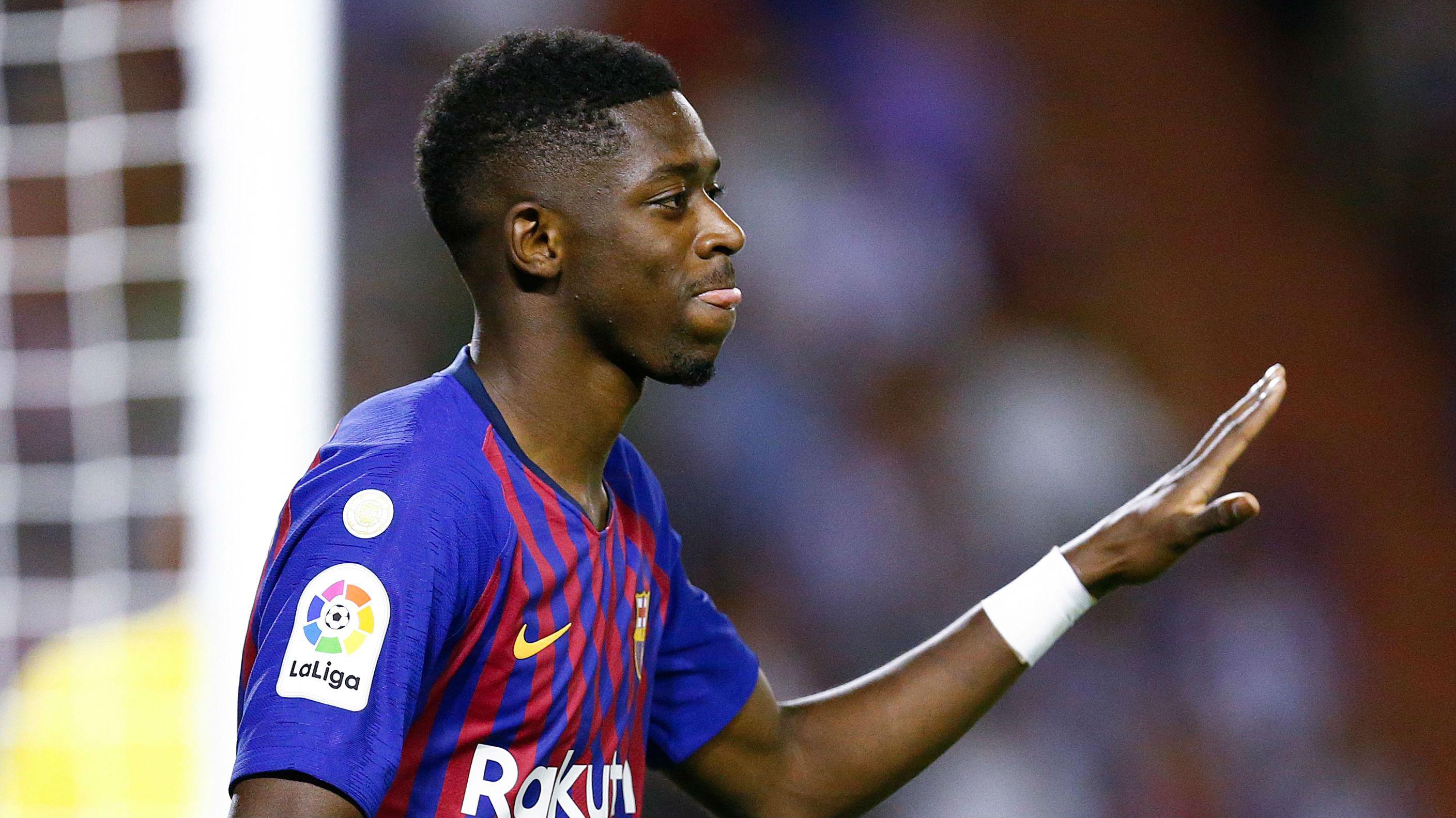 Ousmane Dembele Barcelona La Liga 2018