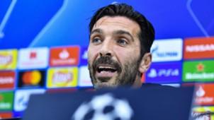 Gianluigi Buffon Napoli PSG press conference
