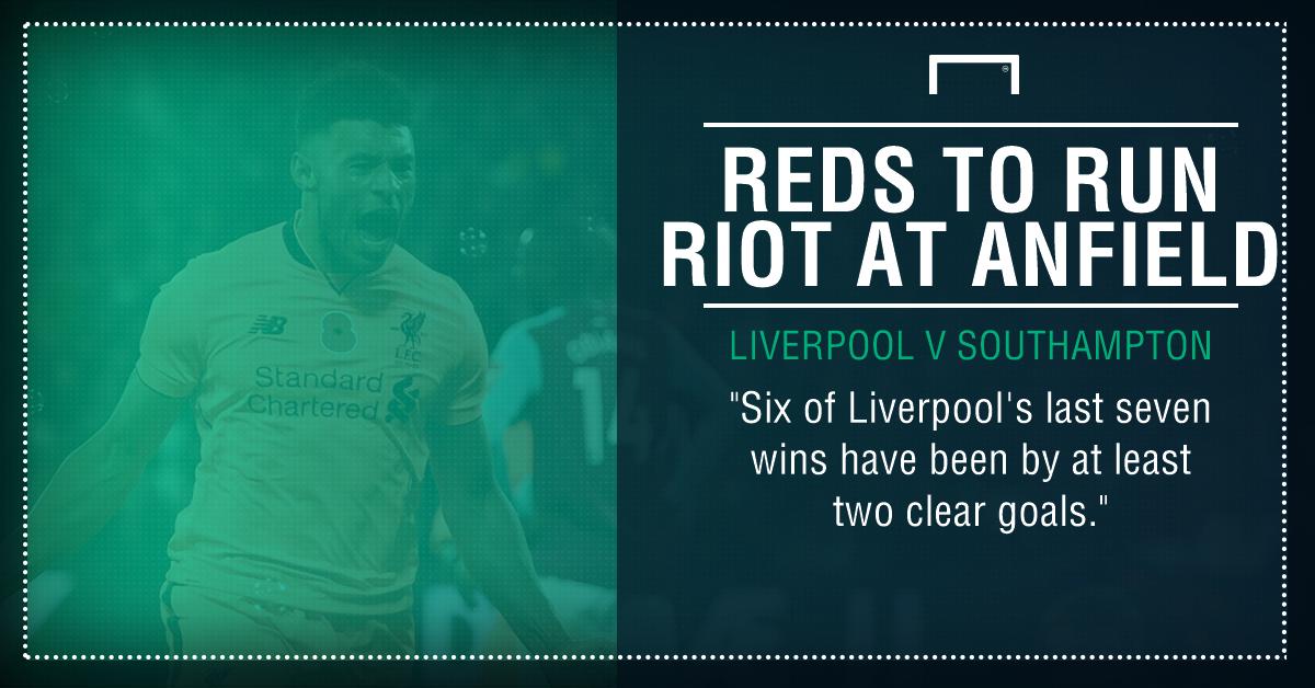 Liverpool Southampton graphic